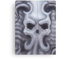 dark abyss airbrush Canvas Print