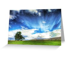 Country Meadow Greeting Card