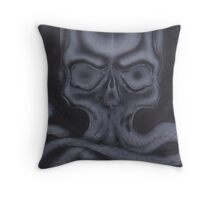 airbrush 3 Throw Pillow