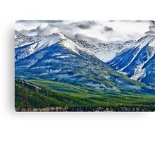 Banff, Alberta Colors Canvas Print