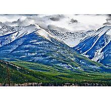 Banff, Alberta Colors Photographic Print