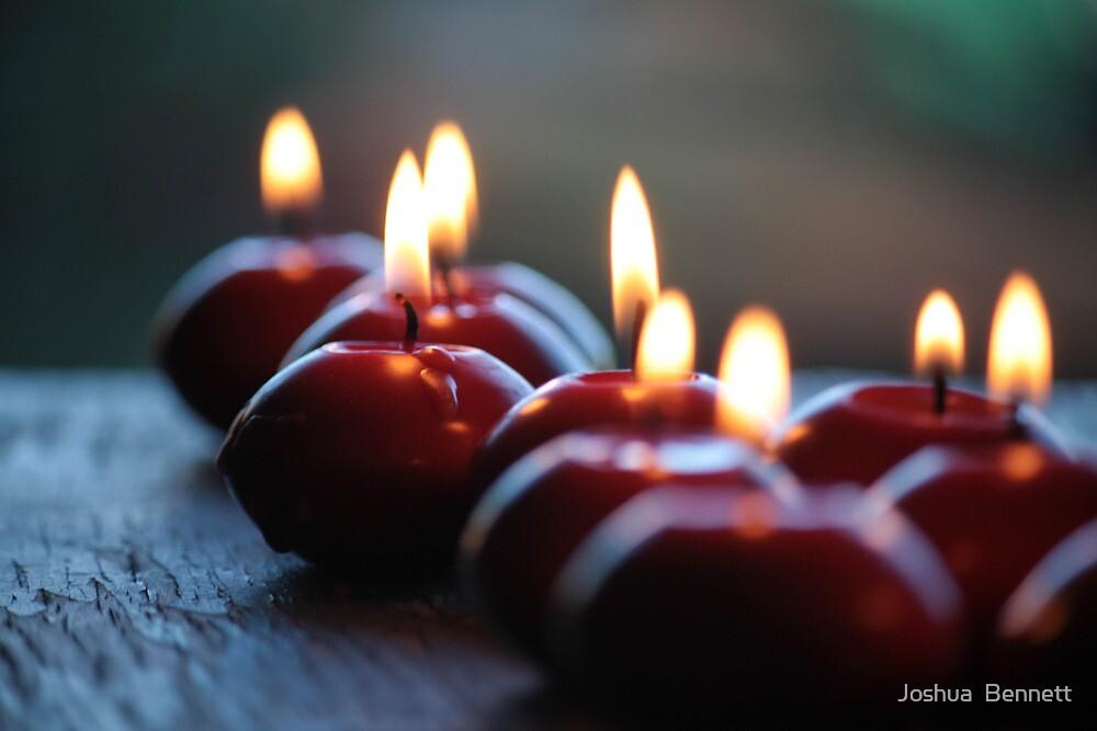 A Dozen Candles Lit by Joshua  Bennett