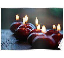 A Dozen Candles Lit Poster