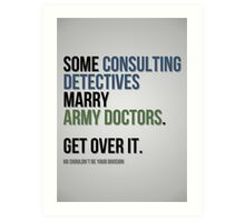 Some Consulting Detectives... Art Print