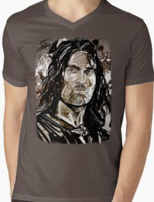Aragorn Mens V-Neck T-Shirt