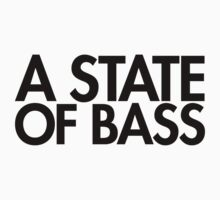 A State Of Bass (black) by DropBass