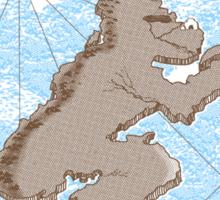 Monkey Island Sticker