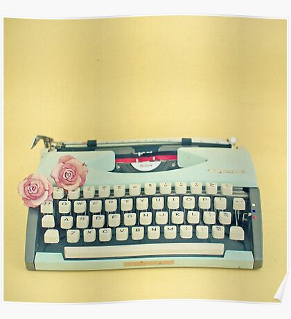 The Typewriter Poster