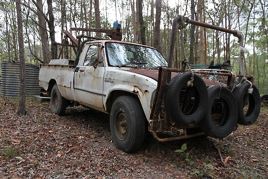 Old Bush Basher by aussiebushstick