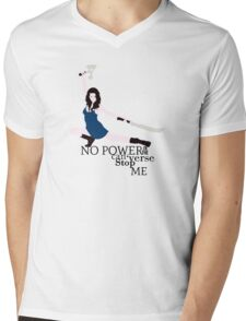 No Power in the 'Verse Mens V-Neck T-Shirt