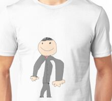 HERE LOOK AT A SHIRT Unisex T-Shirt