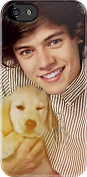 Harry Styles One Direction Puppy by meow-or-never10