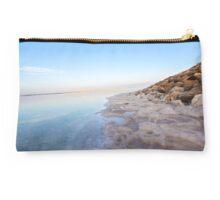 Israel, Dead Sea, salt crystalization Studio Pouch