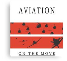 Aviation on the Move Canvas Print