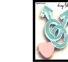 Gay Valentines card by Daniel  Taylor