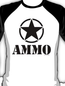 AMMO with Army Invasion Star T-Shirt