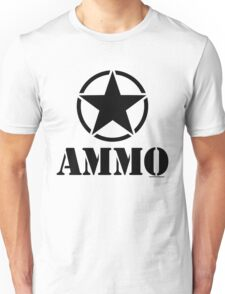 AMMO with Army Invasion Star Unisex T-Shirt