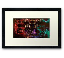 Light Play #4792 Framed Print