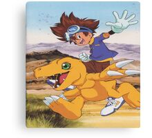 Digimon swagger bag Canvas Print