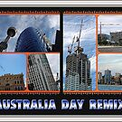 thee cranes ov Brisbane 2013 DAILY TOUR - Day 26 (Australia Day REMIX) by Craig Dalton