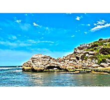 The Blue Hole HDR Photographic Print
