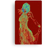 Tango Colours Canvas Print