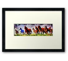Band of Horses Framed Print