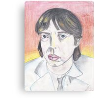 Buscemi Jagger Canvas Print