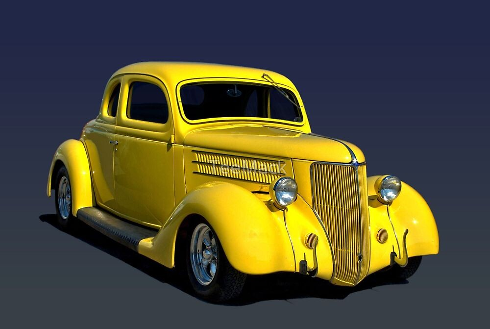 1936 Ford Hot Rod Coupe by TeeMack