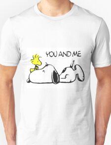 Snoopy Woodstock Love T-Shirt