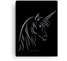 Unicorn - Einhorn Canvas Print