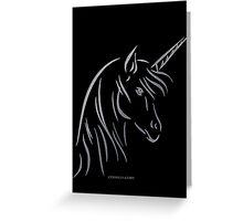 Unicorn - Einhorn Greeting Card