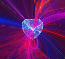Heart and Swirls by Sandy Keeton