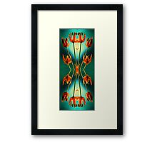 Nouveau Allium  Framed Print