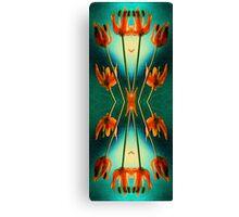 Nouveau Allium  Canvas Print