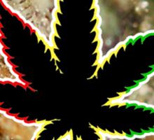 Cannabis Macro - iPhone Case Sticker