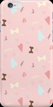 Puppy Love Pink Lemonade by offleashart
