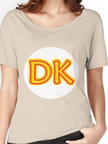 He's the leader of the bunch. He's DK! Donkey Kong! Women's Relaxed Fit T-Shirt