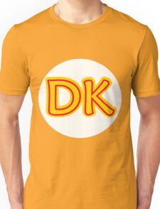 He's the leader of the bunch. He's DK! Donkey Kong! Unisex T-Shirt