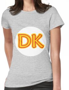 He's the leader of the bunch. He's DK! Donkey Kong! Womens Fitted T-Shirt