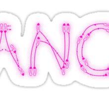 Dance. Sticker