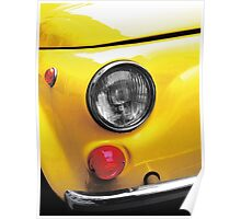 vintage italian car Poster