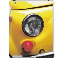 vintage italian car iPad Case/Skin