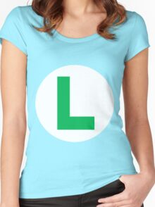 Mama Mia! It's-a Luigi! Women's Fitted Scoop T-Shirt