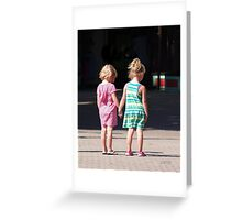 Hold On Greeting Card