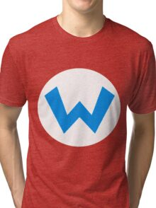 Oh-boy! It's Wario!! Tri-blend T-Shirt