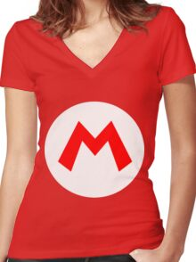 It's a Me! Mario! Women's Fitted V-Neck T-Shirt