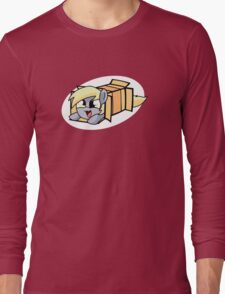Derpy in a box Long Sleeve T-Shirt