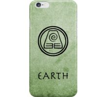 Avatar Last Airbender Elements - Earth iPhone Case/Skin
