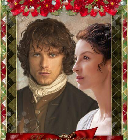 Jamie & Claire  Sticker